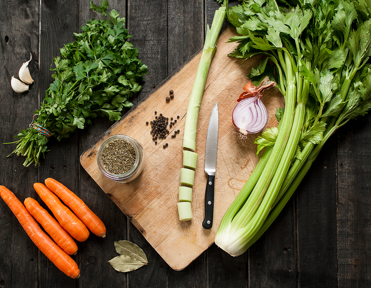 Bulion warzywny składniki