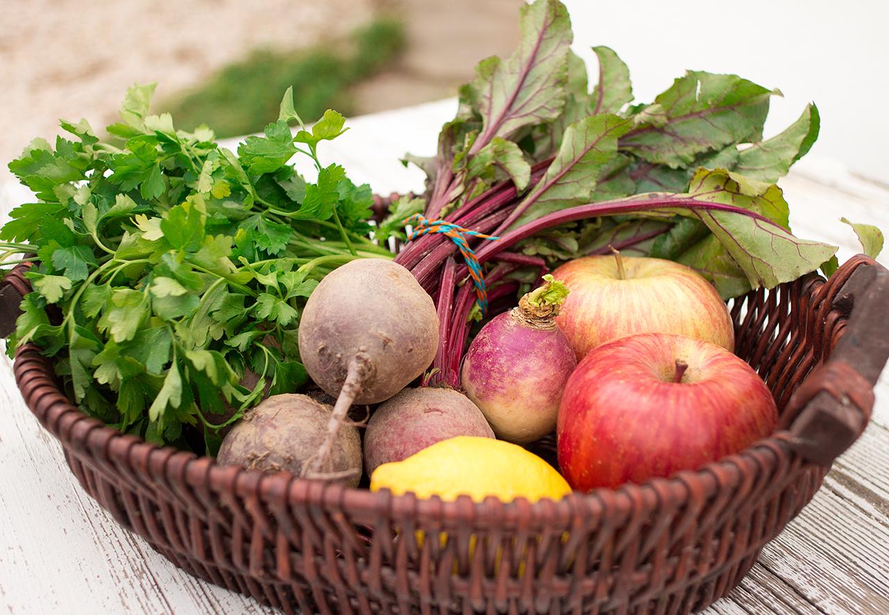 sałatka z buraka i jabłka podstawowe składniki