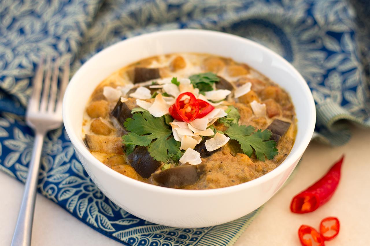 curry kokosowe porcja