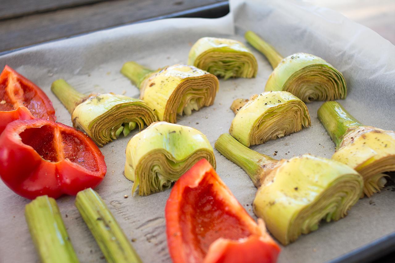 warzywa gotowe do pieczenia