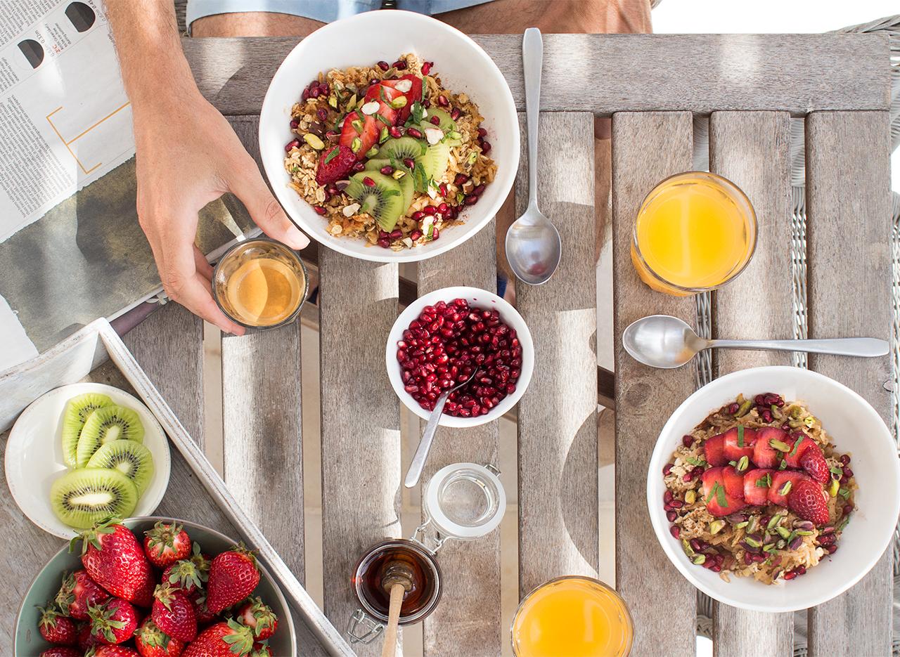 Bircher muesli na śniadanie