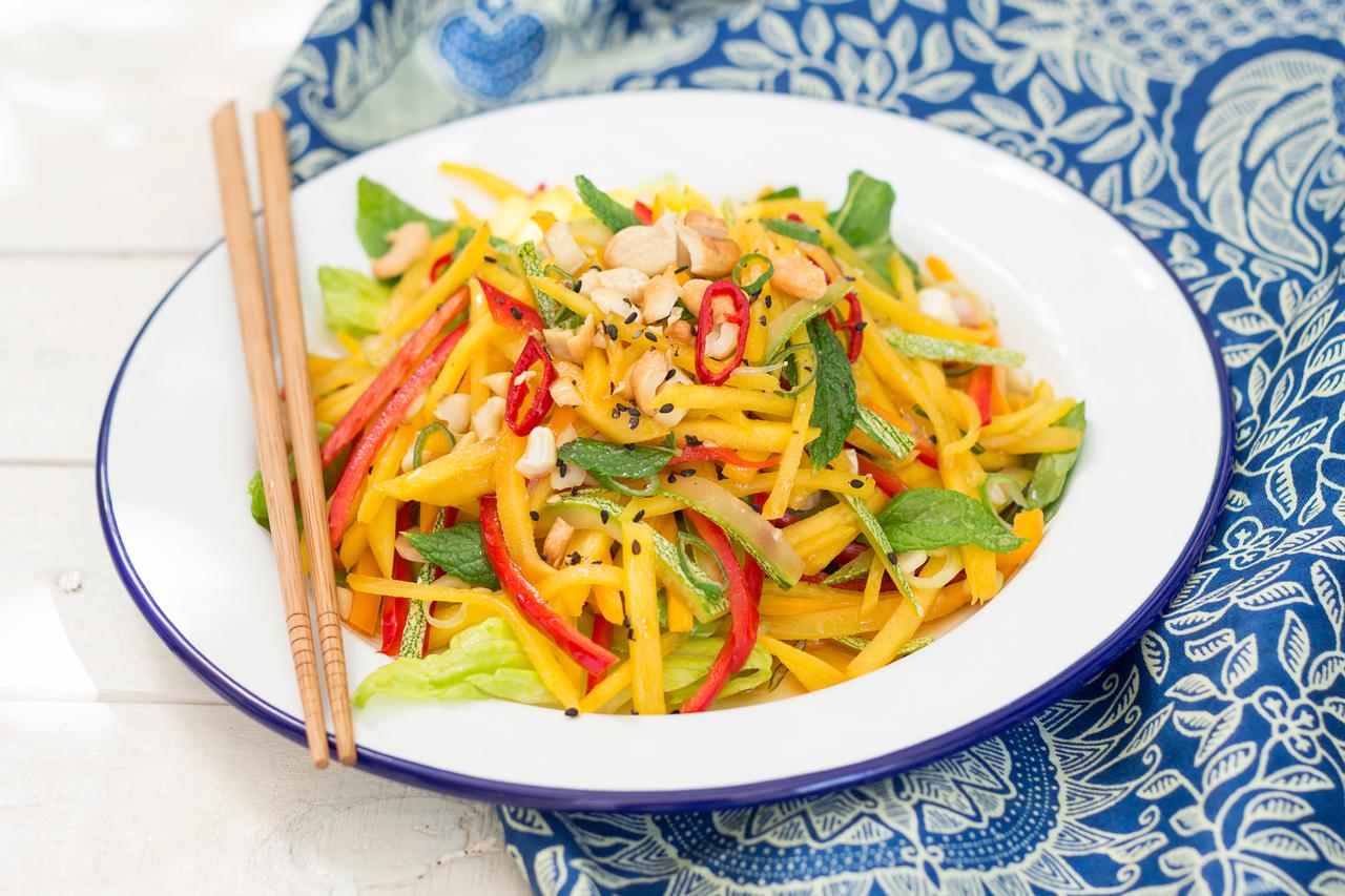 Tajska Sałatka Z Mango