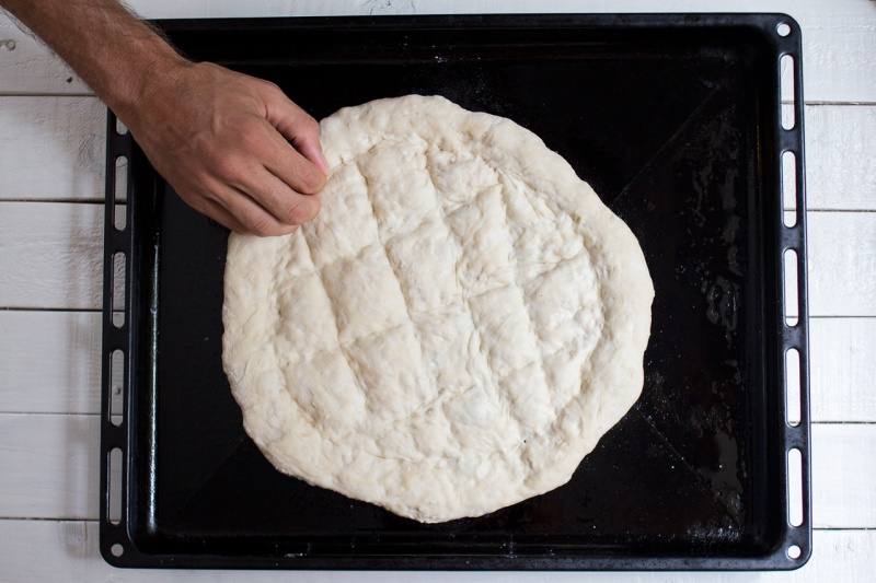 turecki chleb bez zagniatania wzór