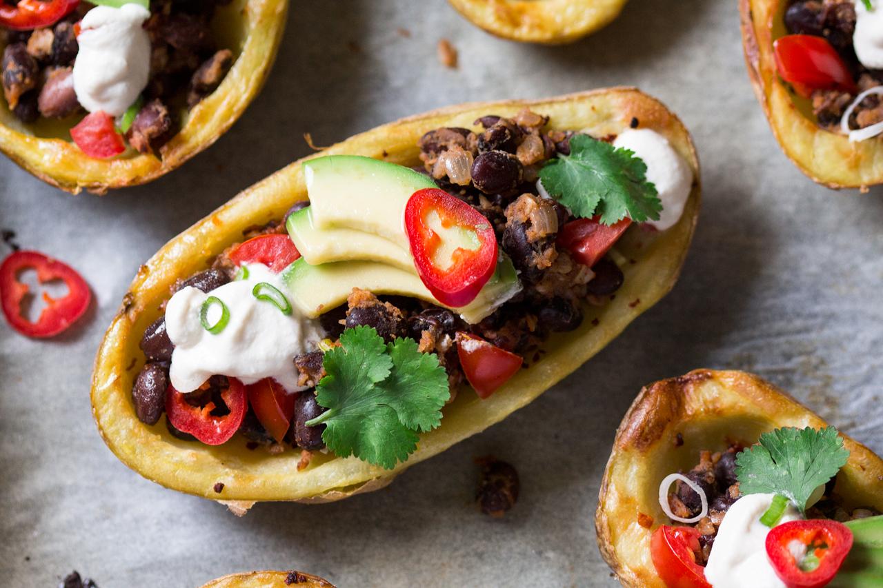 meksykańska łódka z ziemniaków